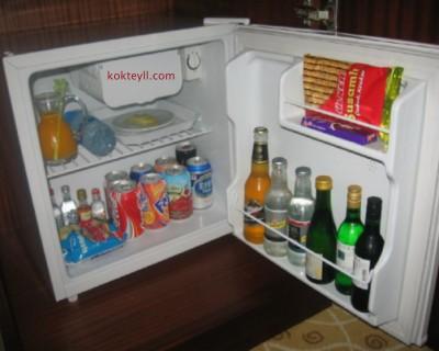 Minibar Set Up